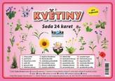 Květiny - Sada 24 karet
