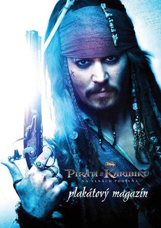 Piráti z Karibiku - Na vlnách podivína - plakátový magazín