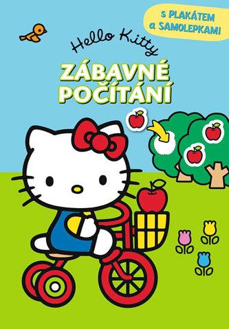 Hello Kitty - Zábavné počítání s plakátem a samolepkami