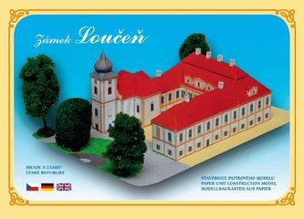 Zámek Loučeň - Stavebnice papírového modelu