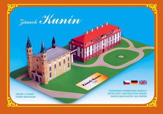 Zámek Kunín - Stavebnice papírového modelu