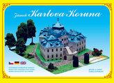 Zámek Karlova Koruna - Stavebnice papírového modelu
