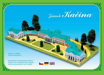 Zámek Kačina - Stavebnice papírového modelu
