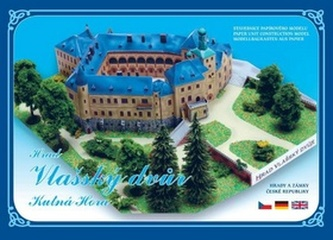 Hrad Vlašský Dvůr Kutná Hora - Stavebnice papírového modelu