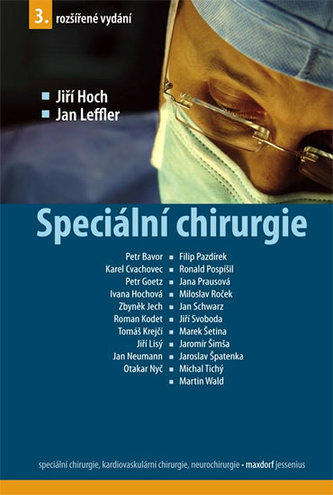 Speciální chirurgie - 3. vydání