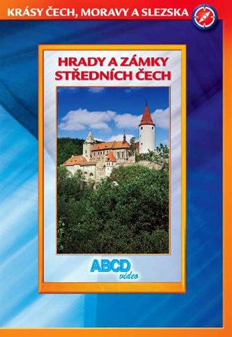Hrady a zámky středních Čech - Krásy Č,M,S - DVD