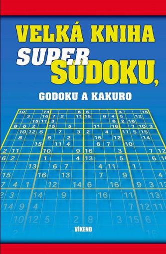 Velká kniha Super Sudoku, Godoku a Kakuro