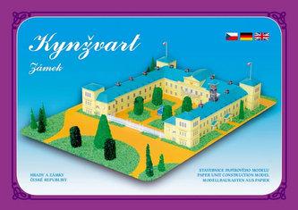 Zámek Kynžvart - Stavebnice papírového modelu