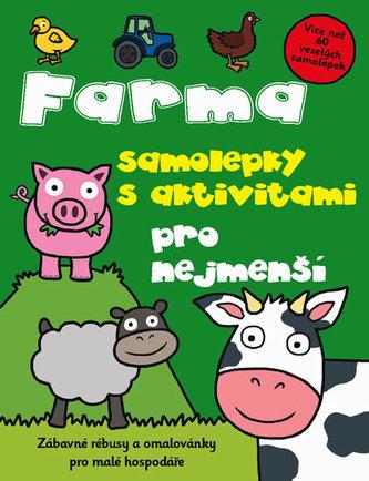 Farma – samolepky s aktivitami pro nejmenší