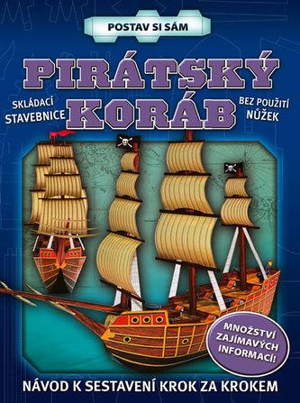 Pirátský koráb - postav si sám