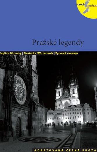Pražské legendy - Adaptovaná česká próza + CD (AJ,NJ,RJ) - Lída Holá