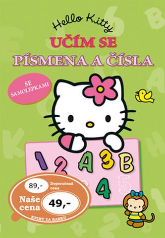 Hello Kitty - Učím se písmena a čísla se samolepkami