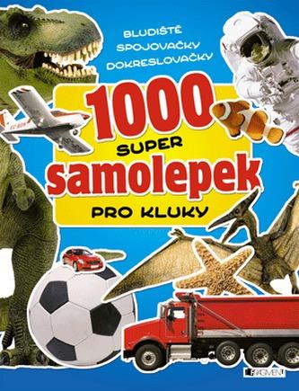 1000 super samolepek – Pro kluky