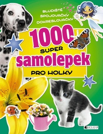 1000 super samolepek – Pro holky