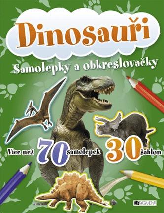 Dinosauři - samolepky a obkreslovačky