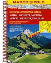 Marco Polo Reiseatlas Österreich, Liechtenstein, Südtirol. Austria, Liechtenstein, South Tyrol. Autriche, Liechtenstein, Tyrol d