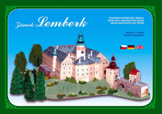 Zámek Lemberk - Stavebnice papírového modelu
