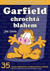 Garfield chrochtá blahem (č.35)