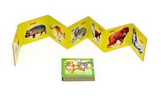 Exotická zvířata - leporelo