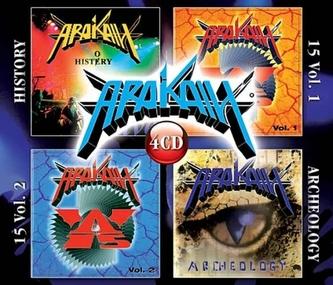Arakain 60 hitů - 4CD (History + 15 Vol. 1&2 + Archeology)