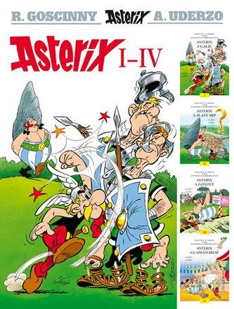 Asterix I-IV - 3. vydání
