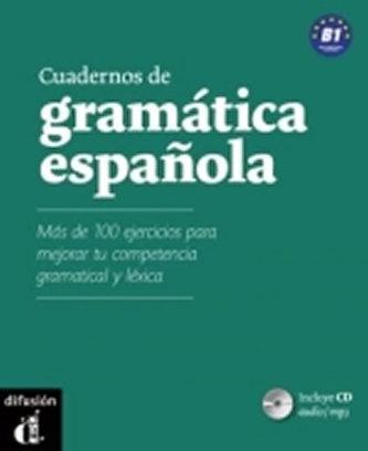 Cuaderno de gramática espanola B1 + CD MP3