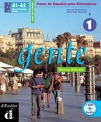 Gente 1 Nueva Ed. – Libro del alumno + CD