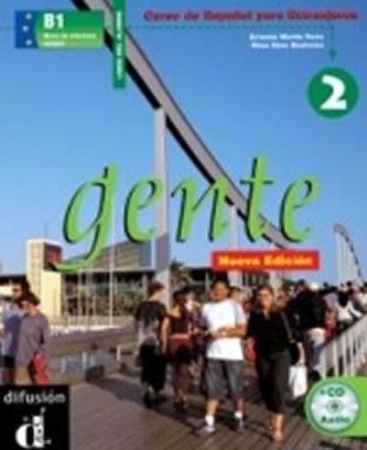 Gente 2 Nueva Ed. – Libro del alumno + CD