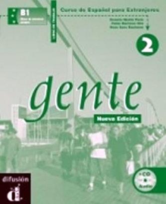 Gente 2 Nueva Ed. – Libro de trabajo + CD