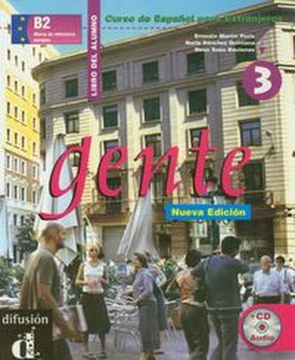 Gente 3 Nueva Ed. – Libro del alumno + CD