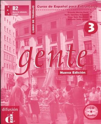 Gente 3 Nueva Ed. – Libro de trabajo + CD