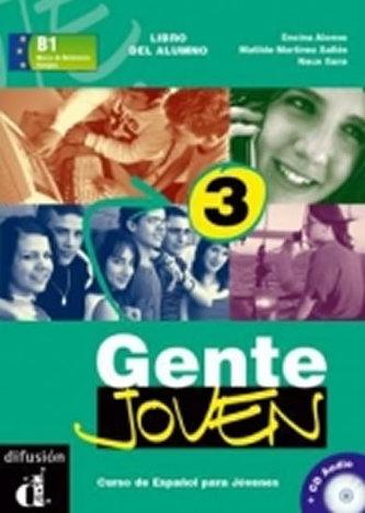 Gente Joven 3 – Libro del alumno + CD