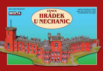 Zámek Hrádek u Nechanic - vystřihovánky