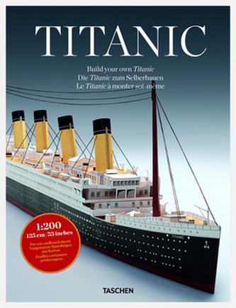Titanic - sestavte si svůj vlastní model (AJ, FJ, NJ + český návod k sestavení)