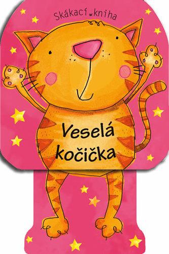 Veselá kočicka – skákající kniha
