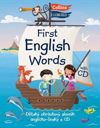First English Words - Dětský obrázkový AJ slovník + CD