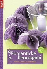 Romantické fleurogami - Květy z kulatých papírů - TOPP