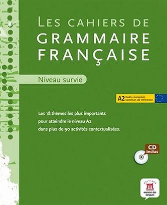 Cahier de grammaire A2 + CD