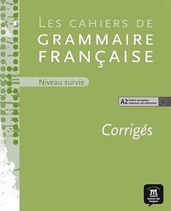 Cahier de grammaire A2 – corrigé