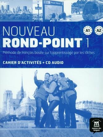 Nouveau Rond-Point A1-A2 – Cahier dexer. + CD