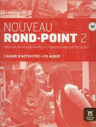 Nouveau Rond-Point B1 – Cahier dexer. + CD