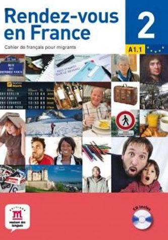 Rendez-vous en France 2 + CD (A1.2)