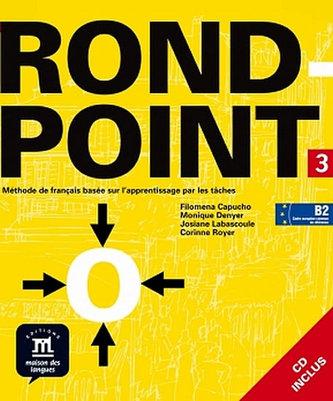 Rond-point 3 – Livre de léleve + CD