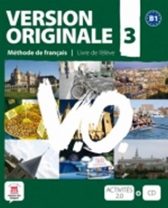 Version Originale 3 – Livre de léleve + CD + DVD