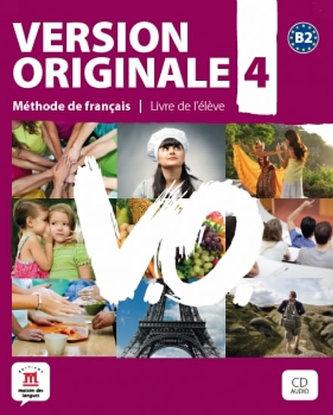 Version Originale 4 – Livre de léleve + CD + DVD