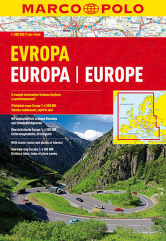 Euro atlas - Evropa 1:800 000 (spirála) - neuveden