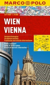 Wien/Vienna - City Map 1:15000