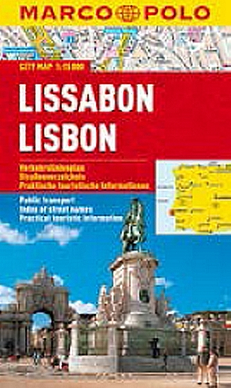 Lissabon/Lisbon - City Map 1:15000