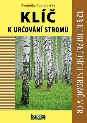 Klíč k určování stromů - 123 nejběžnějších stromů v ČR - Dominika Dobrylovská
