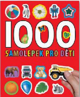 1000 samolepek pro děti